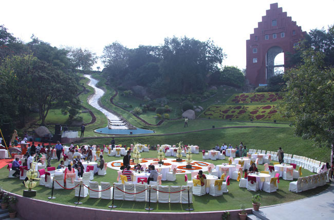 Theme garden in ramoji film city